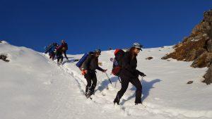 snow craft course