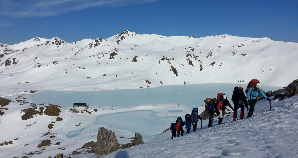 Alpine courses