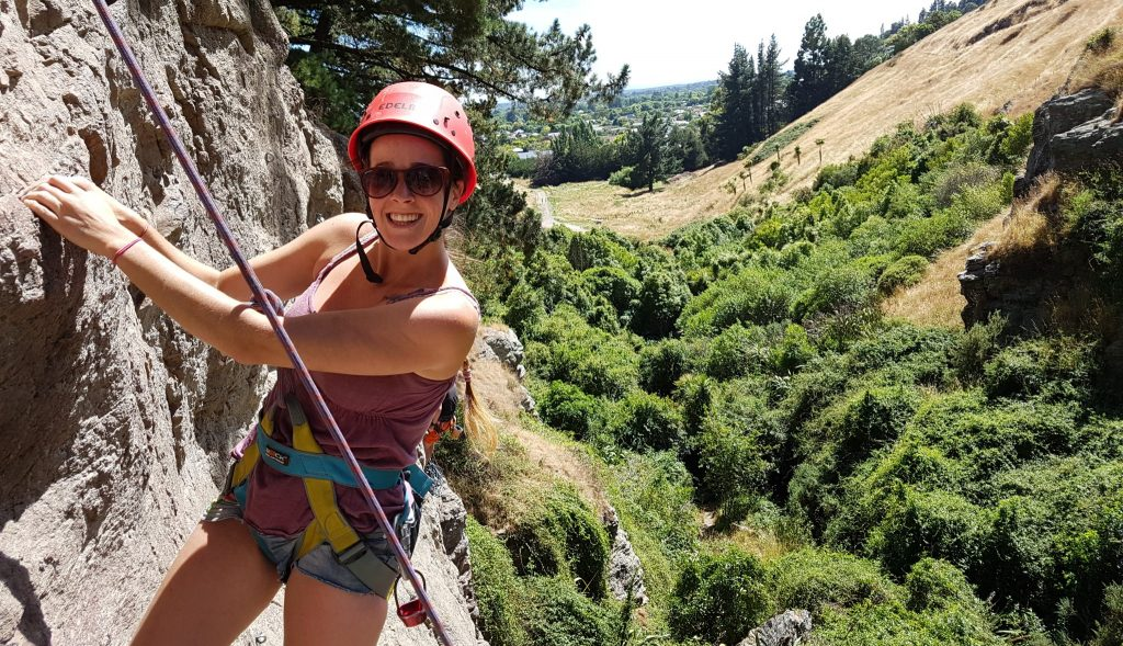 Learn to rock climb with OENZ- Outdoor Education New Zealand