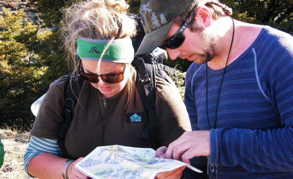 Bushcraft and navigation course with OENZ-Outdoor Education New Zealand