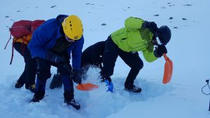 Avalanche digging