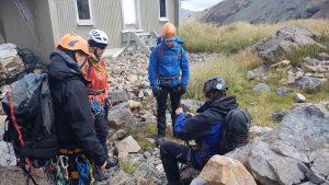 Summer alpine climbing course