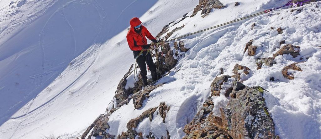 Mountaineering training with OENZ