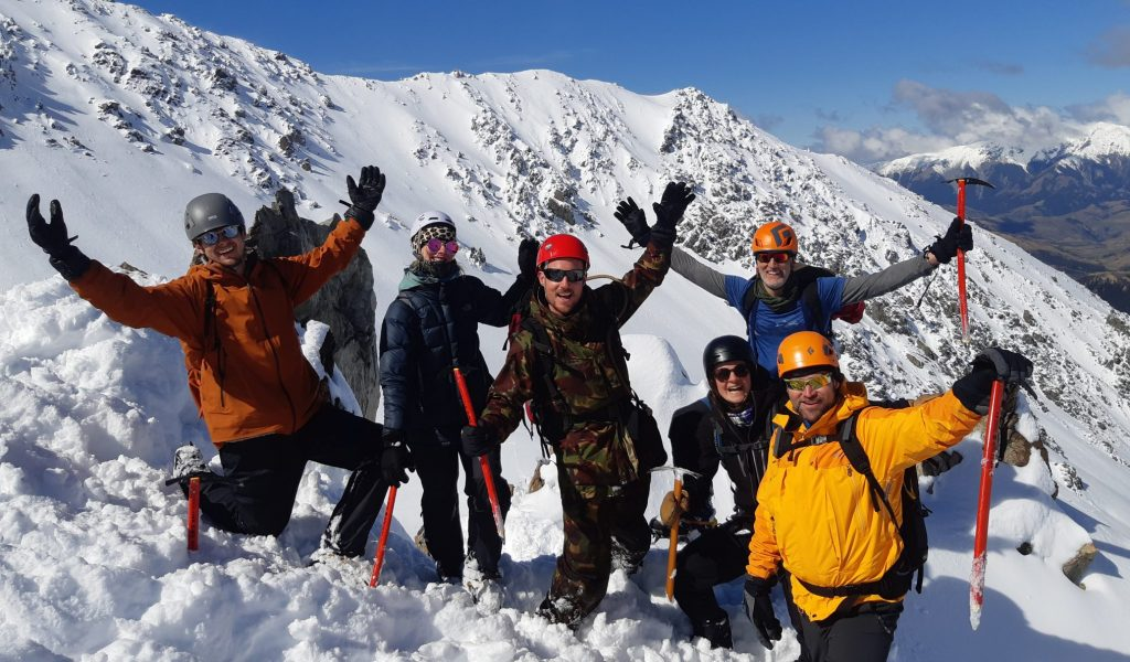 OENZ mountaineering courses