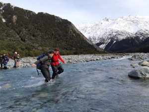 river crossing, bush craft, navigation courses
