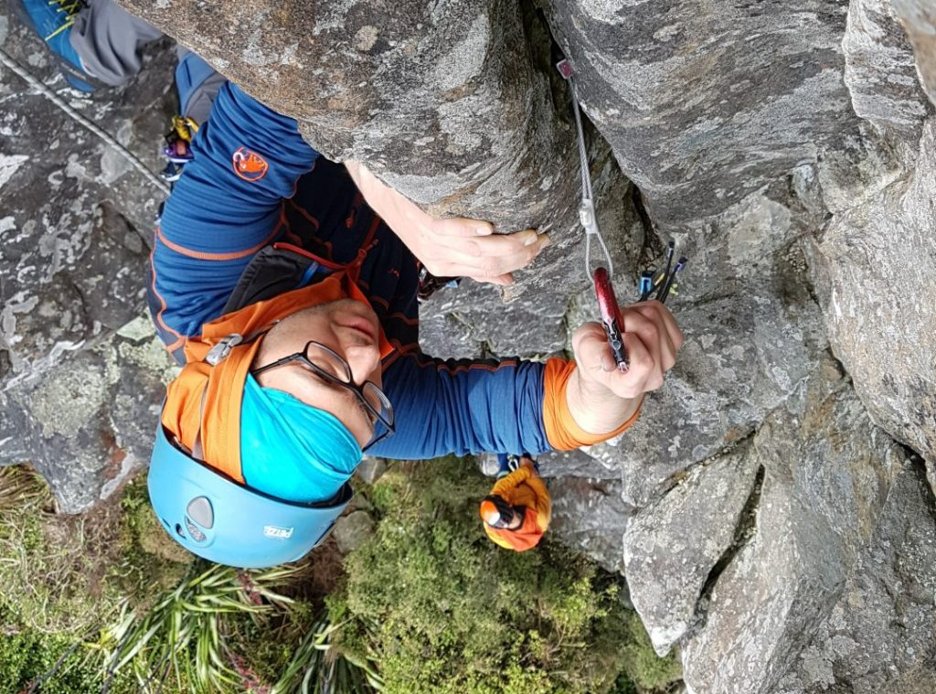 Christchurch trad climbing course