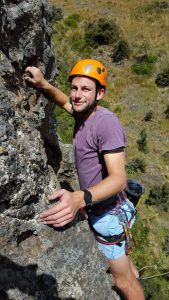 Learning to rock climb at Mt Somers with OENZ- Outdoor Education New Zealand