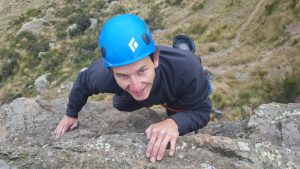 Rock climbing at Mt somers with OEnz- Outdoor Education New Zealand