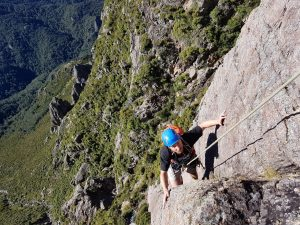 Rock climbing New Zealand