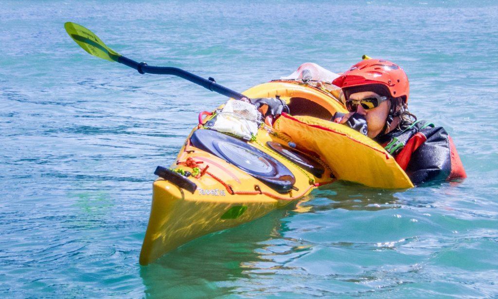 Sea kayak training Christchurch, New Zealand