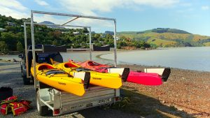 Sea kayaking course trailer in christchurch